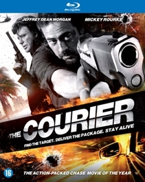 Courier, (Blu-Ray) W/ JEFFREY DEAN MORGAN AND MICKEY ROURKE MOVIE, Blu-Ray