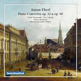PIANO CONCERTOS DIE KOLNER AKADEMIE/MICHAEL ALEXANDER WILLENS A. EBERL, CD