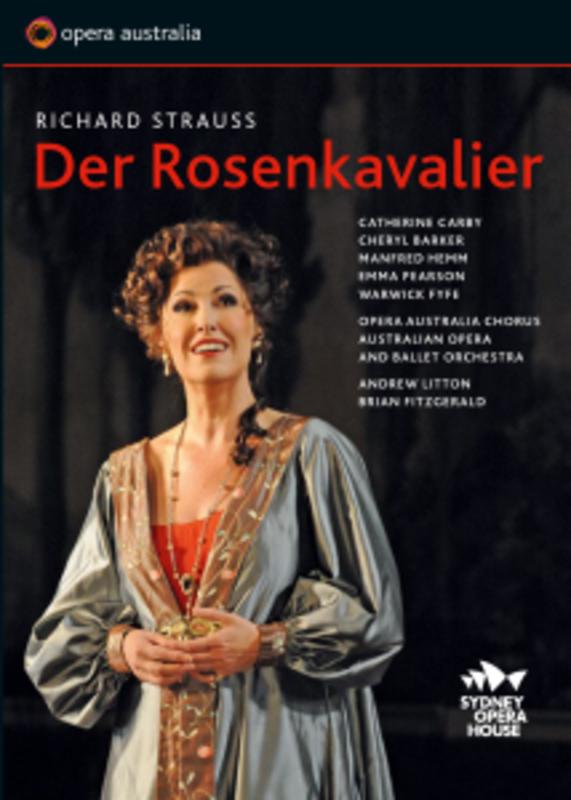 DER ROSENKAVALIER SYDNEY 2012 R. STRAUSS, DVD