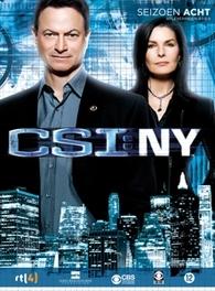 CSI: New York - Seizoen 8, deel 1 (3DVD)
