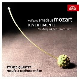DIVERTIMENTI FOR STRING.. ..QUARTET//STAMIC QUARTET/TYLSAR, ZDENEK & BED Audio CD, W.A. MOZART, CD