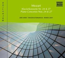 PIANO CONCERTOS NO.24 JENO JANDO W.A. MOZART, CD