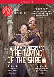 TAMING OF ST.SHREW CLAIRE VAN KAMPEN/NTSC/ALL REGIONS W. SHAKESPEARE, DVDNL