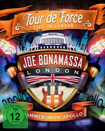 TOUR DE FORCE - HAMMERSMI .. HAMMERSMITH APOLLO -LONDON, MARCH 28, 2013- JOE BONAMASSA, DVDNL