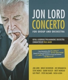 CONCERTO FOR GROUP &.. .. ORCHESTRA // BLU RAY + CD JON LORD, BLURAY