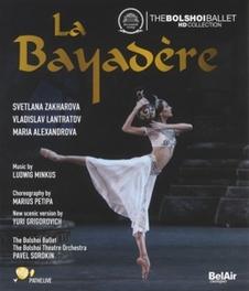 LA BAYADERE BOLSHOI THEATRE/PAVEL SOROKIN L. MINKUS, BLURAY