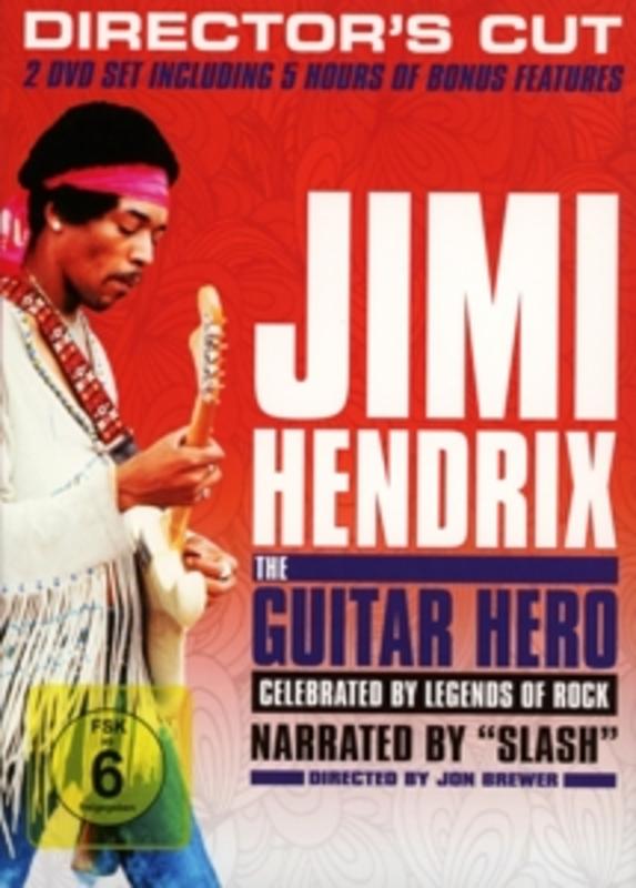 Jimi Hendrix - The Guitar Hero, (DVD) JIMI HENDRIX, DVDNL