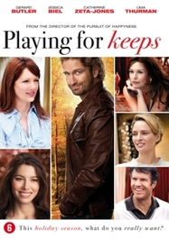 Playing for keeps, (DVD) CAST: GERALD BRTLER, JESSICA BIEL MOVIE, DVDNL