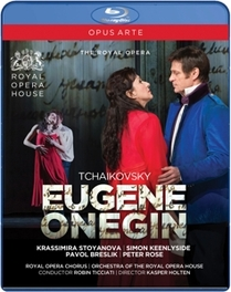EUGENE ONEGIN ROYAL OPERA HOUSE COVENT GARDEN/KASPER HOLTEN P.I. TCHAIKOVSKY, Blu-Ray