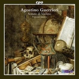 SONATE DI VIOLINO PARNASSI MUSICI A. GUERRIERI, CD