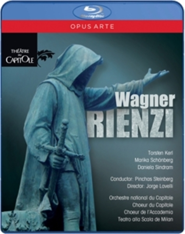 RIENZI TORSTEN KERL R. WAGNER, Blu-Ray