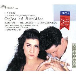 ORFEO ED EURIDICE BARTOLI/HEILMANN/HOGWOOD Audio CD, J. HAYDN, CD