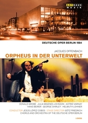 ORPHEUS IN DER UNTERWELT NTSC/ALL REGIONS// DEUTSCHE OPER BERLIN 1984