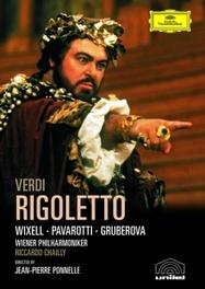 Various Artists - Rigoletto, (Blu-Ray) WIENER PHILHARMONIKER/RICCARDO CHAILLY/WIXELL/PAVAROTTI G. VERDI, BLURAY