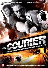 Courier, (DVD) W/ JEFFREY DEAN MORGAN AND MICKEY ROURKE MOVIE, DVDNL