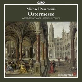 EASTER.. WESER-RENAISSANCE/MANFRED CORDES M. PRAETORIUS, CD