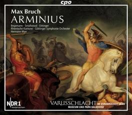 ORATORIUM: ARMINIUS OP43 MAX, HERMANN//BEGEMANN/SMALLWOOD/RHEINISCHE KANTO Audio CD, M. BRUCH, CD