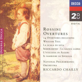 OVERTURES NAT.PHIL.ORCH./CHAILLY Audio CD, G. ROSSINI, CD