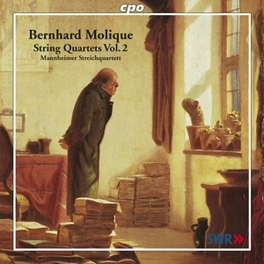 STRING QUARTETS VOL.2:NO. MANNHEIMER STREICHQUARTETT Audio CD, B. MOLIQUE, CD