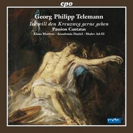 PASSION CANTATAS ACCADEMIA DANIEL/SHALEV AD-EL Audio CD, G.P. TELEMANN, CD
