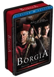 Borgia - Seizoen 1, (Blu-Ray) METAL SERIES // W/JOHN DOMAN,ISOLDA DYCHAUK & ART MALIK TV SERIES, Blu-Ray