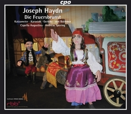 DIE FEUERSBRUNST:.. .. MARIONETTEN SINGS//SPERING, ANDREAS//KATZAMEIER/KARA Audio CD, J. HAYDN, CD