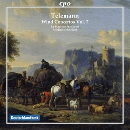 WIND CONCERTOS VOL7:TWV5 LA STAGIONE FRANKFURT/MICHAEL SCHNEIDER G.P. TELEMANN, CD