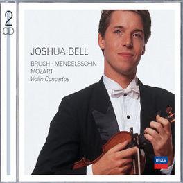 VIOLIN CONCERTOS NEVILLE MARRINER/WORKS:BRUCH/MENDELSSOHN/MOZART Audio CD, JOSHUA BELL, CD