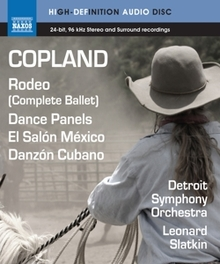 RODEO/DANCE PANELS A. COPLAND, Blu-Ray