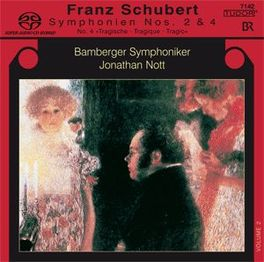 SYMPHONY NO.2 & 4 BAMBERGER SYMPHONIKER/J.NOTT F. SCHUBERT, Super audio CD