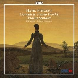 SONATA FOR VIOLIN & PIANO W/ULF WALLIN, ROLAND POENTINEN Audio CD, H. PFITZNER, CD