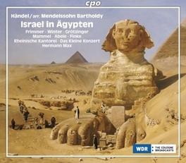 ISRAEL IN AEGYPTEN:VERSIO DAS KLEINE KONZERT, RHEINISCHE KANTOREI Audio CD, G.F. HANDEL, CD