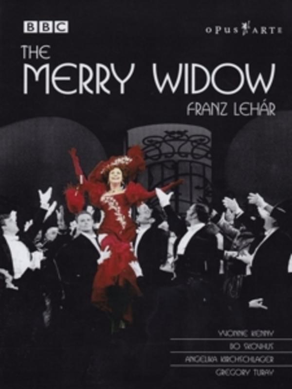 THE MERRY WIDOW, LEHAR, MANSOURI, L. PAL/ALL REGIONS /E.KUNZEL DVD, F. LEHAR, DVD