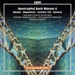APOKRYPHAL BACH MASSES II GESUALDO CONSORT AMSTERDAM/WOLFGANG HELBICH J.S. BACH, CD