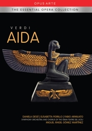 AIDA GRAN TEATRE DEL LICEU CHORUS & ORCHESTRA // ALL REGIONS G. VERDI, DVD