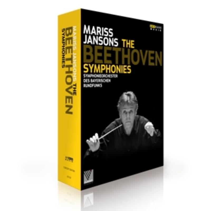 BEETHOVEN SYMPHONIES MARISS JANSONS, DVDNL
