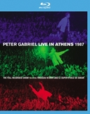 Gabriel Peter - Live In Athens 1987 - Play Brackblu, (Blu-Ray) .. 1987