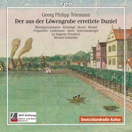 ORATORIUM: DER AUS DER.. .. LOWENGRUBE E//BLESSING-LEYHAUSEN/KLEINDOPF/LA STA Audio CD, G.P. TELEMANN, CD