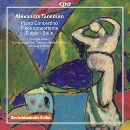 PIANO CONCERTINO & PIECE BRANDENBURGISCHE STAATSORCHESTER FRANKFURT A. TANSMAN, CD