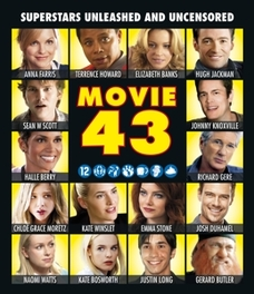 Movie 43, (Blu-Ray) ALL REGIONS // W/ HALLE BERRY,HUGH JACKMAN,RICHARD GERE MOVIE, Blu-Ray