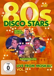 80'S Disco Stars Live From Moskau/Pal/W:Bonny M/Modern Talking/Gazebo/&More