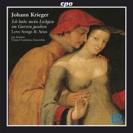 LOVE SONGS & ARIAS:ICH HA UNITED CONTINUO ENSEMBLE/KAN KOBOW Audio CD, J.P. KRIEGER, CD