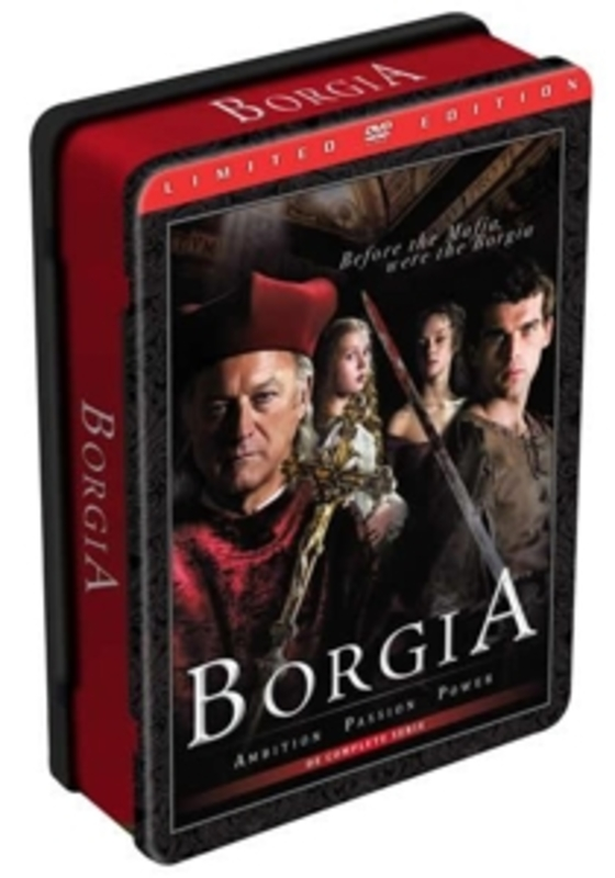 Borgia - Seizoen 1, (DVD) METAL SERIES // W/JOHN DOMAN,ISOLDA DYCHAUK & ART MALIK TV SERIES, DVDNL