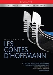 LES CONTES D'HOFFMANN BILBAO ORKESTRA SINFONIKOA J. OFFENBACH, DVDNL