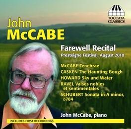 FAREWELL RECTICAL JOHN MCCABE, CD