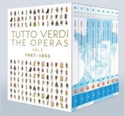 TUTTO VERDI BOX 2 THE OPERAS 1847-1853