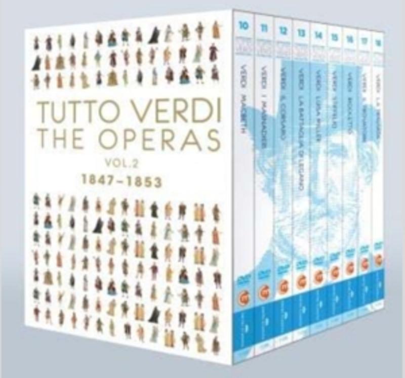 TUTTO VERDI BOX 2 THE OPERAS 1847-1853 G. VERDI, DVDNL