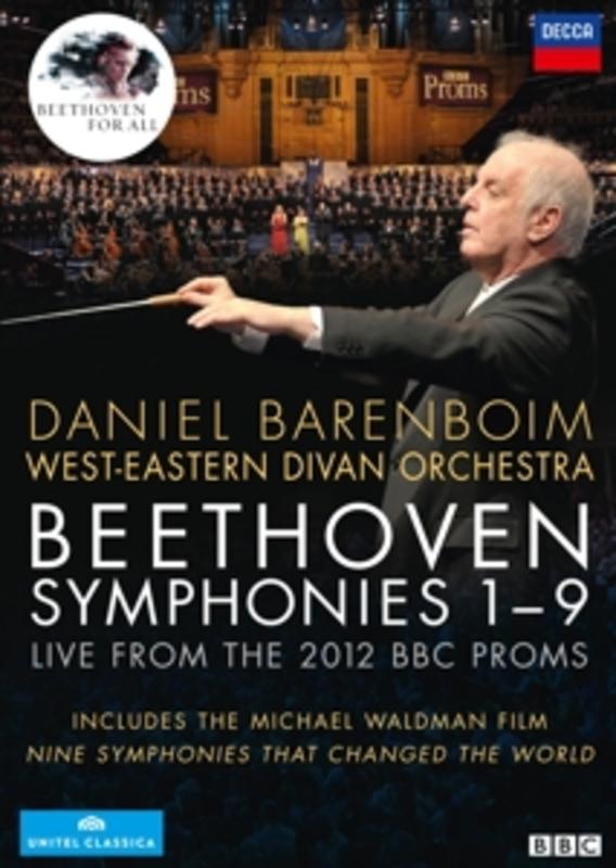 West Eastern Divan Orchestra - The Nine Symphonies, (DVD) MEIER/PAPE/BARENBOIM/WEST-EASTERN DIVAN ORCHESTRA L. VAN BEETHOVEN, DVD