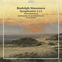SYMPHONIES 1 & 2 SOENDERJYLLANDS S.O./ISRAEL YINON Audio CD, R. SIMONSEN, CD