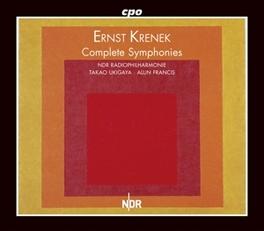COMPLETE SYMPHONIES NDR RADIOPHILHARMONIE HANNOVER E. KRENEK, CD